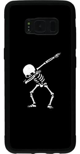 Coque Samsung Galaxy S8 - Silicone rigide noir Halloween 19 09