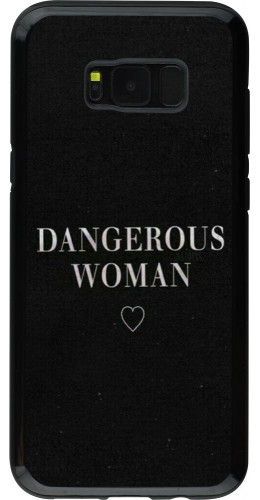 Coque Galaxy S8+ - Hybrid Armor noir Dangerous woman