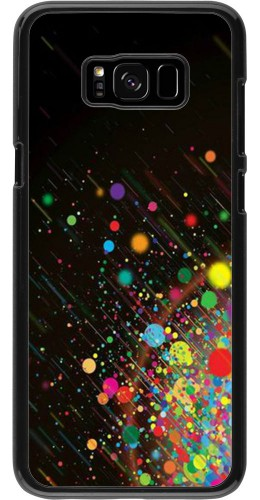 Coque Samsung Galaxy S8+ - Abstract bubule lines