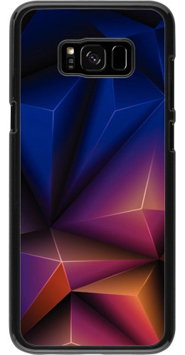 Coque Samsung Galaxy S8+ - Abstract Triangles
