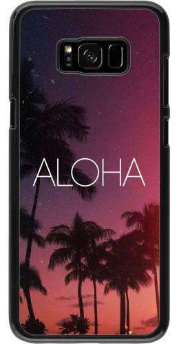 Coque Samsung Galaxy S8+ - Aloha Sunset Palms