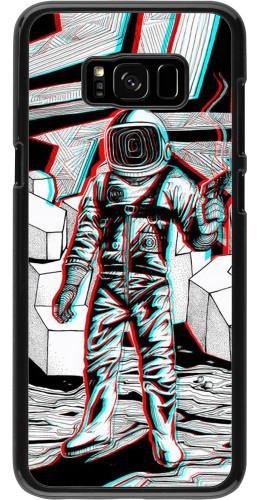 Coque Samsung Galaxy S8+ - Anaglyph Astronaut