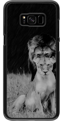 Coque Galaxy S8+ - Angry lions
