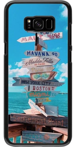 Coque Samsung Galaxy S8+ - Cool Cities Directions