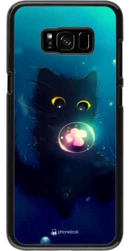 Coque Samsung Galaxy S8+ - Cute Cat Bubble