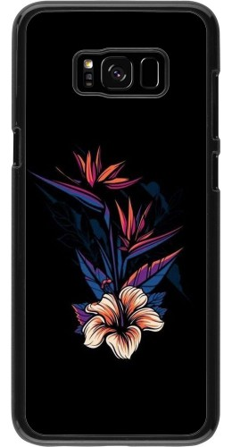Coque Samsung Galaxy S8+ - Dark Flowers