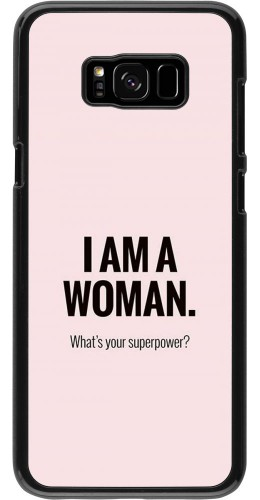 Coque Samsung Galaxy S8+ - I am a woman