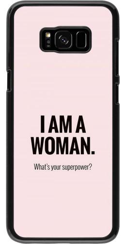 Coque Samsung Galaxy S8+ - I am a woman