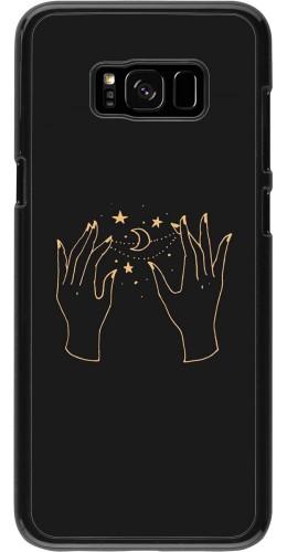 Coque Samsung Galaxy S8+ - Grey magic hands