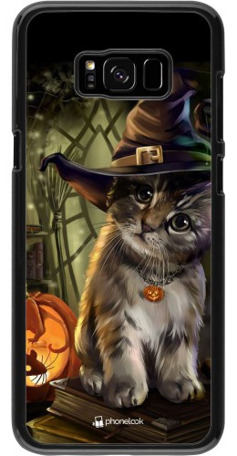 Coque Samsung Galaxy S8+ - Halloween 21 Witch cat