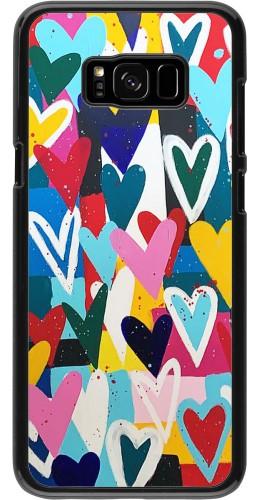 Coque Samsung Galaxy S8+ - Joyful Hearts