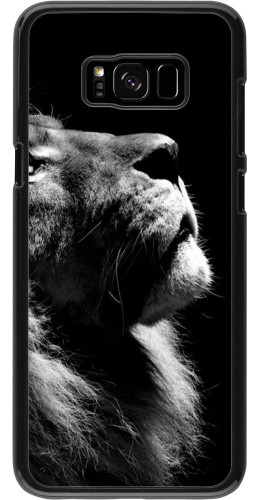 Coque Galaxy S8+ - Lion looking up