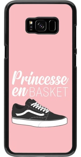 Coque Samsung Galaxy S8+ - princesse en basket