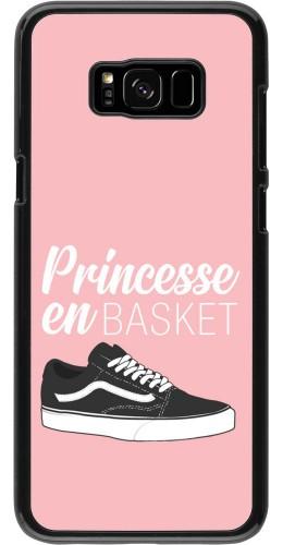 Coque Samsung Galaxy S8+ - princesse en basket