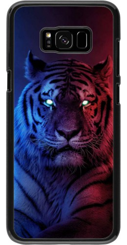 Coque Samsung Galaxy S8+ - Tiger Blue Red