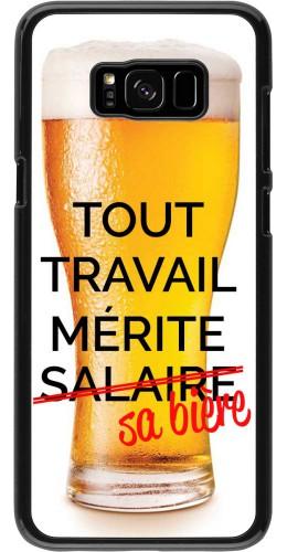 Coque Samsung Galaxy S8+ - Tout travail mérite sa bière