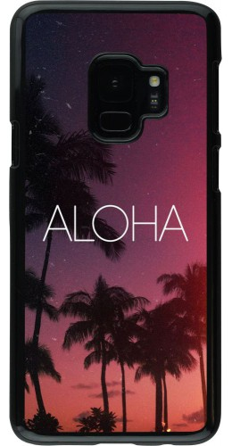 Coque Samsung Galaxy S9 - Aloha Sunset Palms