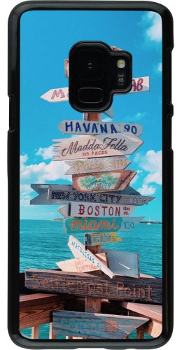 Coque Samsung Galaxy S9 - Cool Cities Directions