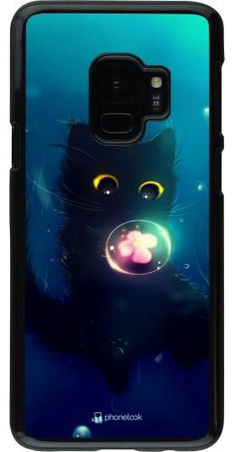 Coque Samsung Galaxy S9 - Cute Cat Bubble