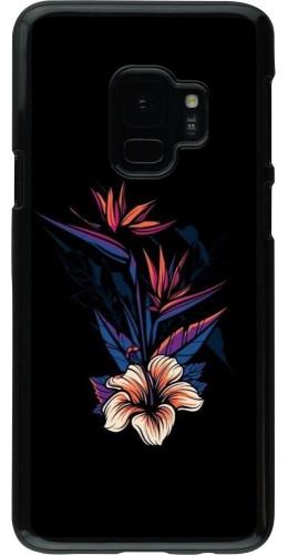 Coque Samsung Galaxy S9 - Dark Flowers