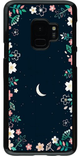 Coque Samsung Galaxy S9 - Flowers space