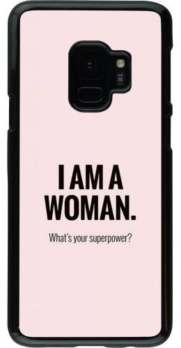 Coque Samsung Galaxy S9 - I am a woman