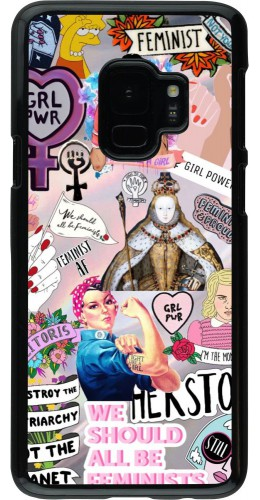 Coque Samsung Galaxy S9 - Girl Power Collage