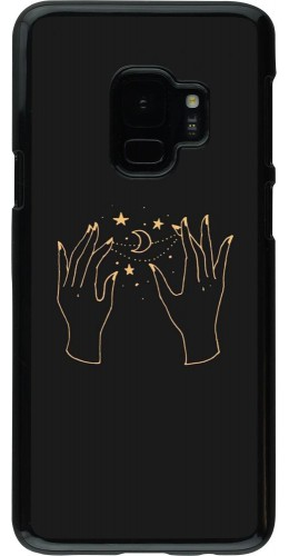 Coque Samsung Galaxy S9 - Grey magic hands