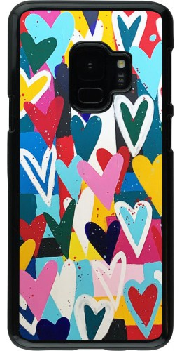Coque Samsung Galaxy S9 - Joyful Hearts