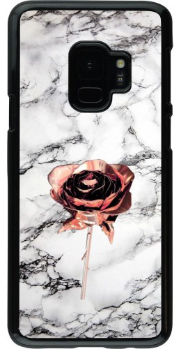 Coque Samsung Galaxy S9 - Marble Rose Gold