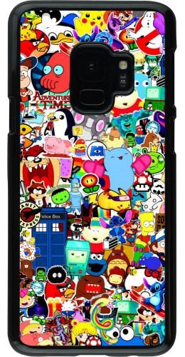 Coque Samsung Galaxy S9 - Mixed cartoons