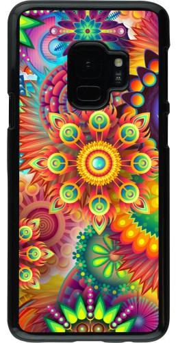 Coque Samsung Galaxy S9 - Multicolor aztec
