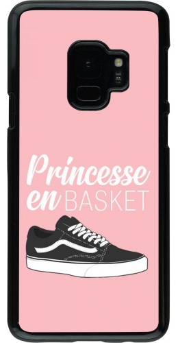 Coque Samsung Galaxy S9 - princesse en basket