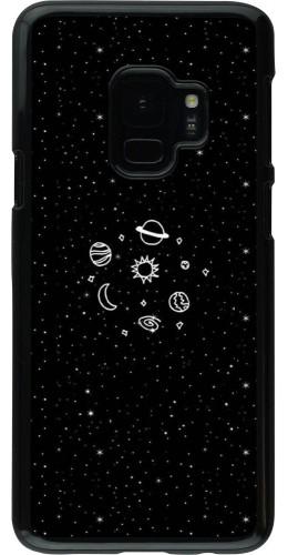 Coque Samsung Galaxy S9 - Space Doodle