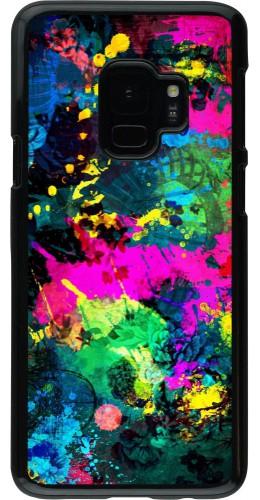 Coque Samsung Galaxy S9 - splash paint