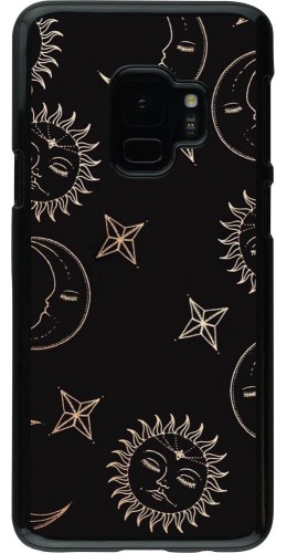 Coque Samsung Galaxy S9 - Suns and Moons