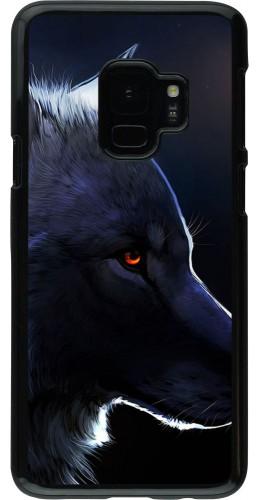 Coque Samsung Galaxy S9 - Wolf Shape