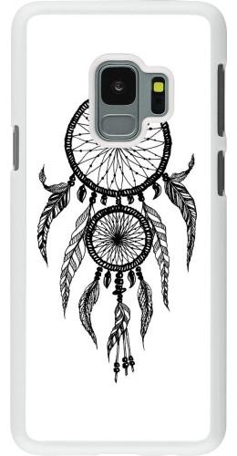 Coque Samsung Galaxy S9 - Plastique blanc Dreamcatcher 02