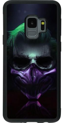 Coque Samsung Galaxy S9 - Silicone rigide noir Halloween 20 21