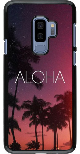 Coque Samsung Galaxy S9+ - Aloha Sunset Palms
