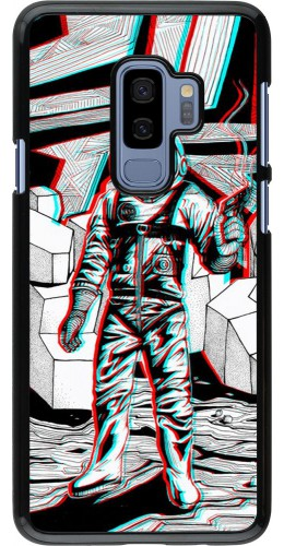 Coque Samsung Galaxy S9+ - Anaglyph Astronaut