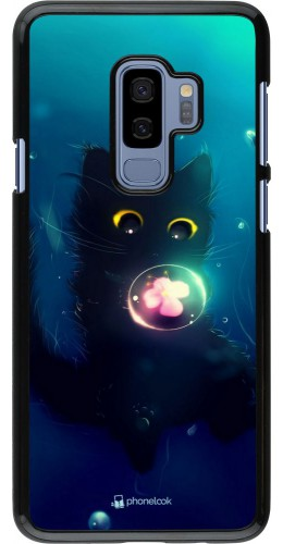 Coque Samsung Galaxy S9+ - Cute Cat Bubble