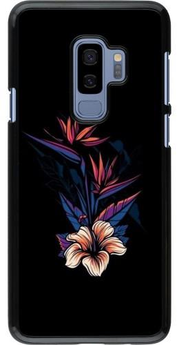 Coque Samsung Galaxy S9+ - Dark Flowers