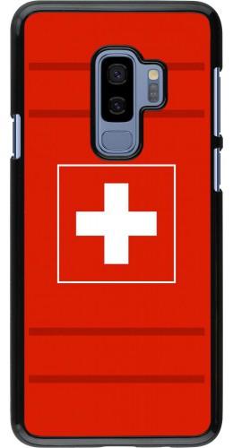 Coque Samsung Galaxy S9+ - Euro 2020 Switzerland