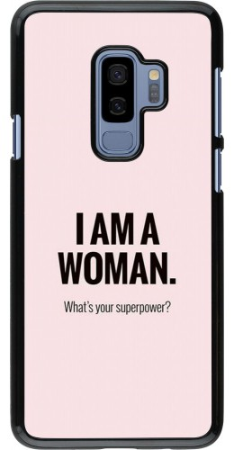 Coque Samsung Galaxy S9+ - I am a woman