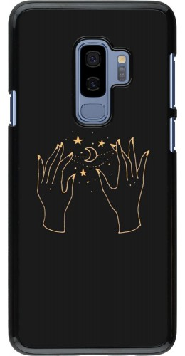 Coque Samsung Galaxy S9+ - Grey magic hands