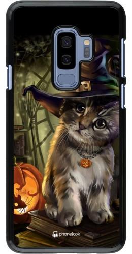 Coque Samsung Galaxy S9+ - Halloween 21 Witch cat