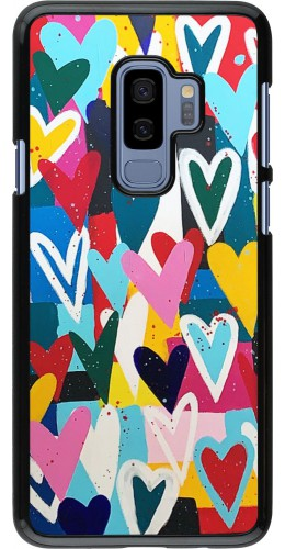 Coque Samsung Galaxy S9+ - Joyful Hearts