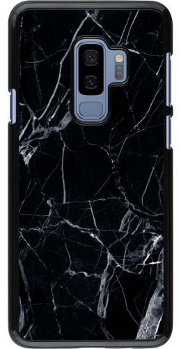 Coque Samsung Galaxy S9+ - Marble Black 01