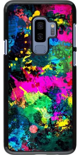 Coque Samsung Galaxy S9+ - splash paint